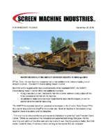 4043TR Recirculating Impact Crusher Product Announcement