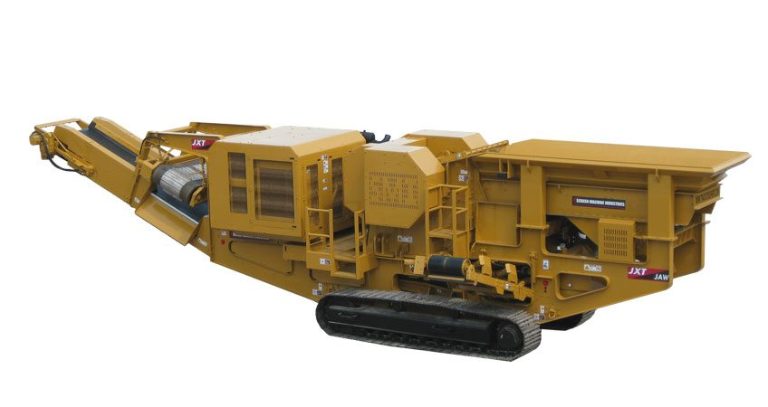 Portable Aggregate Crushing & Screening Plants