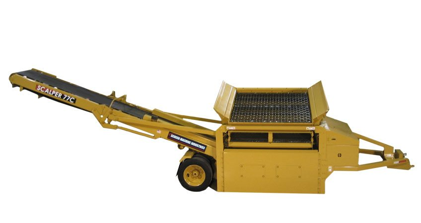 Portable Compost & Mulch Screening Plants