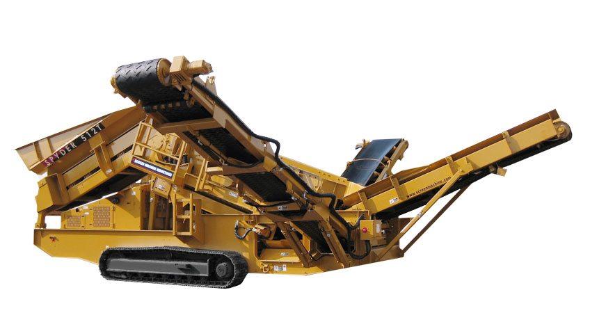 Spyder 512T Portable Screening Plant