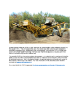 Spyder 514TS Screening Plant Product Announcement